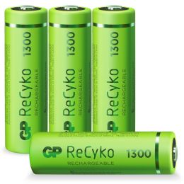 GP Mignon AA Akku-Batterie ReCyko LR06 1,2V wiederaufladbar 4er-Blister
