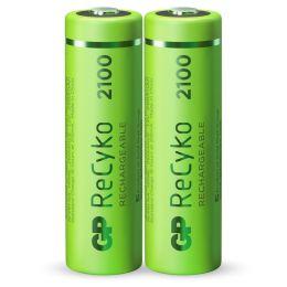 GP Mignon AA Akku-Batterie ReCyko LR06 1,2V wiederaufladbar 2er Blister