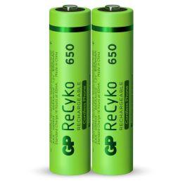 GP Micro AAA Akku-Batterie ReCyko LR03 1,2V wiederaufladbar 2er-Blister