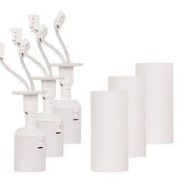 Müller Licht RENOLAMP Renovierfassung und Deckenleuchte E27 weiß 3er Pack