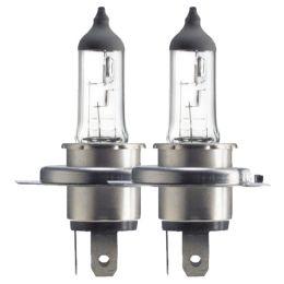Philips Fahrzeugscheinwerferlampe H4 Premium 55/60W P43T 2er Pack
