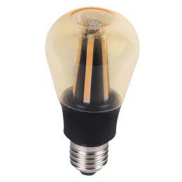 Kanlux Retro-LED Birnenlampe APPLE 8W (60W) 827 E27 300° NODIM