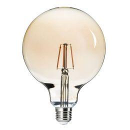 Kanlux goldene LED Globelampe G125 6W (51W) E27 825 NODIM