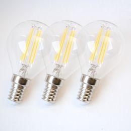 Osram LED Tropfenlampe Base Filament 4W (40W) E14 840 360° NODIM klar 3er Pack