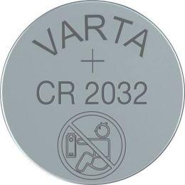 Varta Lithium-Knopfzelle Batterie CR2032 Li-Mn 3V