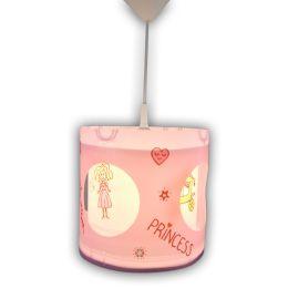 Niermann Dreh-Pendelleuchte PRINZESSIN - rosane Kinderleuchte