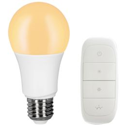 Müller-Licht tint dimming Starter-Set mit LED Birnenlampe 9W + Mobile Switch