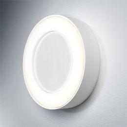 LEDVANCE weiße LED Außen-Decken-/Wandleuchte Surface Round 13W 830 IP54