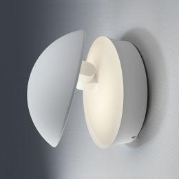 LEDVANCE weiße LED Außen-Wandleuchte Facade Indirect Round 12W 830 IP54