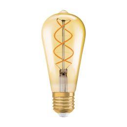 Osram LED Rustikalampe Edison Vintage Edition 1906 5W (25W) E27 820 NODIM gold - vintage 1906