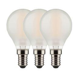 Osram LED Tropfenlampe Base Retro 4W (40W) E14 827 NODIM matt 3er Pack