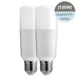GE Bright Stik LED Röhrenform 15W (100W) E27 865 240° NODIM matt 2er Pack