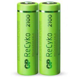 GP Mignon AA Akku-Batterie ReCyko+ LR06 1,2V wiederaufladbar 2er Blister