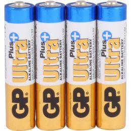 GP Batterie Ultra Plus Alkaline LR03 AAA Mignon 1,5V 4er