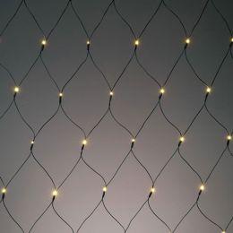 Hellum LED Lichtnetz 200-tlg. Außen warmweiss