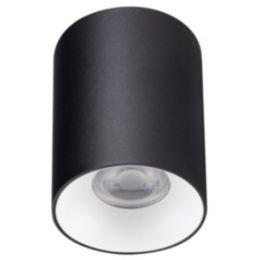 Kanlux LED Deckenaufbauleuchte RITI max. 25W GU10 Rund schwarz/weiß