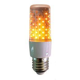 Firelamp LED DUO Flammenlicht AGL 4W E27 1800K 72SMDs Feueroptik + Dauerlicht