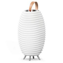 Kooduu LED Leuchte SYNERGY S 65 mit Bluetooth Lautsprecher & Getränkekühler