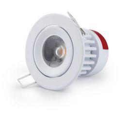 LG LED Downlight essential 9,5W 830 40° DIM schwenkbar weiß