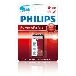 Philips 9V Blockbatterie Power Alkaline 6LR61