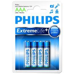 Philips Micro AAA Batterie Ultra Alkaline LR03 1,5V 4er Pack