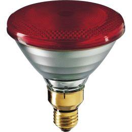 InfraRed Industrial Heat Incandescent - IR lamp PAR38 IR 175W E27 230V Red 1CT/12