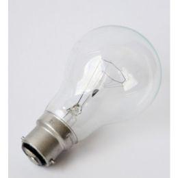 Glühbirne 60W B22d Klar