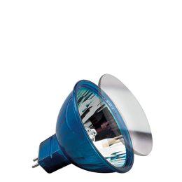 HKLS Happy Color mit Schutzglas FMW flood 38° 35W GU5,3 12V 51mm Blau