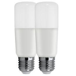 Tungsram Bright Stik LED Röhrenform 12W (75W) E27 865 240° NODIM matt 2er Pack