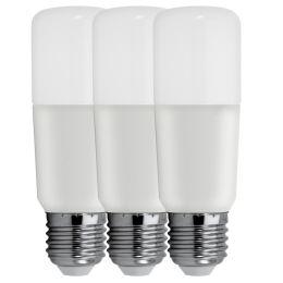 GE Bright Stik LED Röhrenform 6W (40W) E27 865 240° NODIM matt 3er Pack