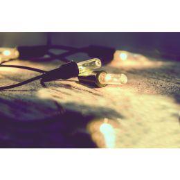 Firelamp 30m Mini-Lichterkette 200tlg. innen warmweiß NODIM
