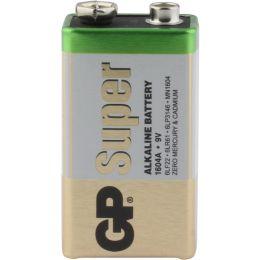 GP Batterie Super Alkaline 6LR61 9V Block