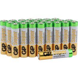 GP Batterie Super Alkaline LR03 AAA Micro 1,5V 24er