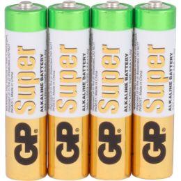GP Batterie Super Alkaline LR03 AAA Micro 1,5V 4er