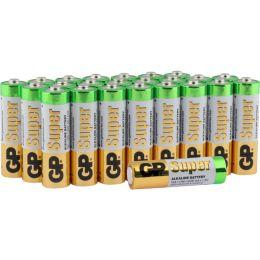 GP Batterie Super Alkaline LR06 AA Mignon 1,5V 24er