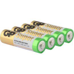 GP Batterie Super Alkaline LR06 AA Mignon 1,5V 4er