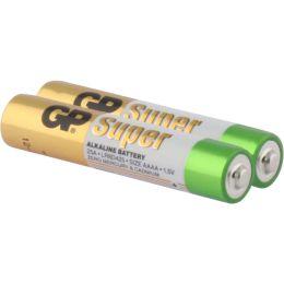 GP Batterie Super Alkaline LR61 AAAA 1,5V 2er