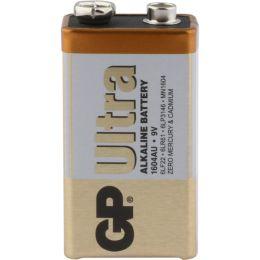 GP Batterie Ultra Alkaline 6LR61 9V Block