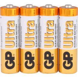 GP Batterie Ultra Alkaline LR06 AA Mignon 1,5V 4er