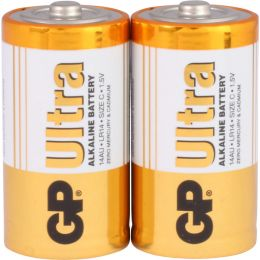 GP Batterie Ultra Alkaline LR14 C Baby 1,5V 2er