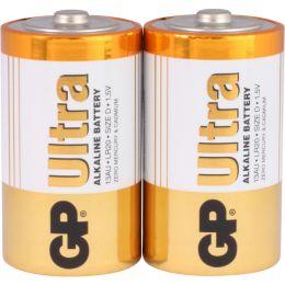 GP Batterie Ultra Alkaline LR20 D Mono 1,5V 2er