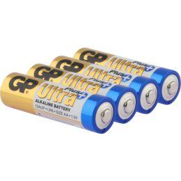 GP Batterie Ultra Plus Alkaline LR06 AA Mignon 1,5V 4er