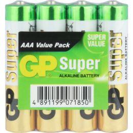 GP Super Alkaline LR03 AAA Micro 1,5V 4er