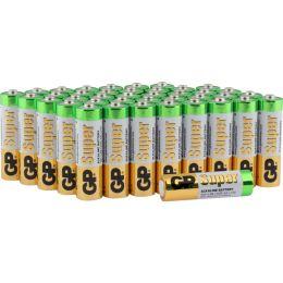 GP Batterie Super Alkaline LR06 AA Mignon 1,5V 40er