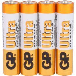 GP Batterie Ultra Alkaline LR03 AAA Micro 1,5V 4er