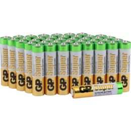 GP Batterie Super Alkaline LR03 AAA Micro 1,5V 40er