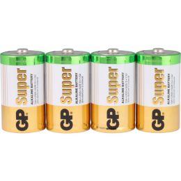 GP Batterie Super Alkaline LR20 D Mono 1,5V 4er