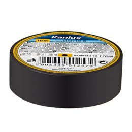 Kanlux schwarzes Isolierband 20m