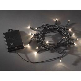 Konstsmide batteriebetriebene LED Lichterkette 20-tlg.  mit Schalter, Sensor und Timer Außen
