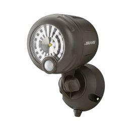 Mr Beams heller LED Scheinwerfer braun mit Bewegungsmelder MB360XT